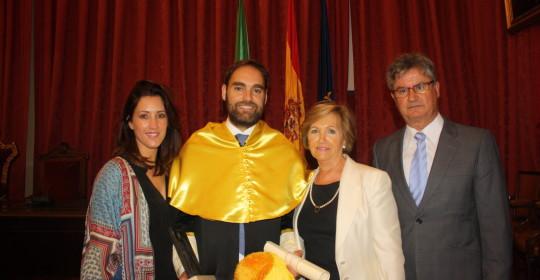 El Dr. Javier Herce galardonado con el Premio Extraordinario de Doctorado de la Universidad de Sevilla